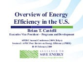 Overview of Energy Efficiency in th...