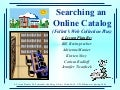 Catalog Lesson Plan