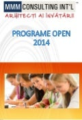 Catalog cursuri open 2014 MMM Consulting