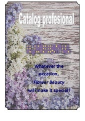 Catalog flower beauty final
