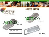 Catalogo Artes Press