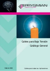 Catalogo cables bt