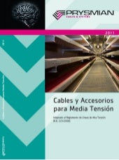 Catalogo cables mt 2011