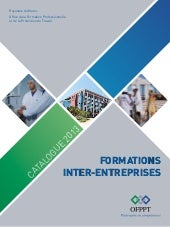 Catalogue inter entreprises-2013 ofppt