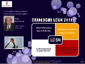 Catalogue LCSN 2011: Formation Prof...