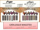 Catalogue soditex & veloutex velours