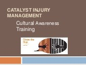 Catalyst injury management   cultur...