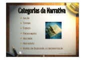 Categorias narrativa
