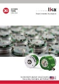 Rotary encoders catalog from Lika Electronic English edition 0913