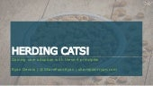 Herding CATS: Gaining user adoption with these 4 principles