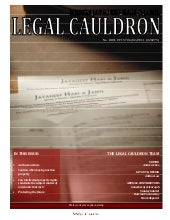 Legal Cauldron issue 1 of 2010