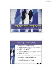 Causes & Effects of Unemployment