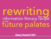 Rewriting the information literacy ...