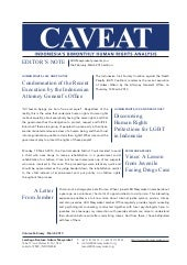 Caveat - Volume February-March 2013...