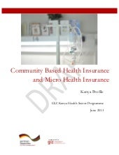 Community-Based Health Insurance an...