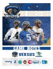 Game Notes - Hounds at Bayhawks 7/25/15