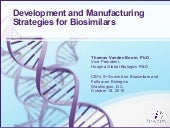 CBI Biosimilars Workshop