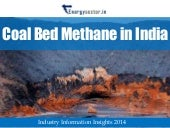 Coal Bed Methane (CBM) in India