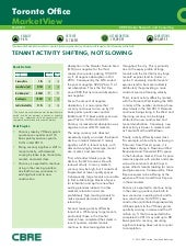 Cbre office leasing market report 2014