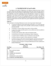 Class 11 Cbse Maths Syllabus 2012-13