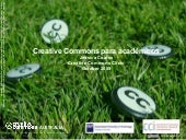Creative Commons Para Academicos
