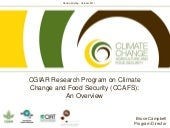 CGIAR Research Program on Climate C...