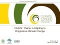 CCAFS Adaptation to progressive climate change Highlights 2011/2012