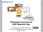 CCCOER OER Research Hub Fellowship