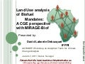 Land Use analysis of Biofuel Mandates: A CGE perspective with MIRAGE-Biof