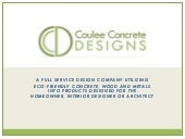 Coulee Concrete Designs