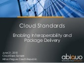 Cloud Standards: EnablingInteropera...