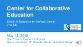 Center for Collaborative Education: Massachusetts Personalized Learning Network Plan