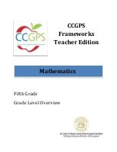 Ccgps math 5_grade_leveloverview