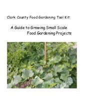 A Guide to Growing Small Scale Food...