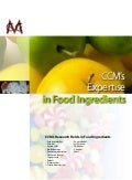 CCM's Expertise in Food ingredients