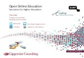 Open and Online Education - Scenari...