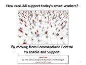 How Can L&D Support Today's Smart Workers?