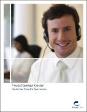 PivotalCRM - Contact center