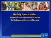 CDC Healthy Communities