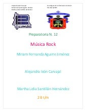 documento word: La muusiica RoCk