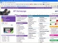 BT Homepage Dec 2009 after relaunch