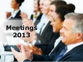 Meetings PowerPoint PPT Content Mod...