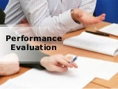 Performance Evaluation PowerPoint P...
