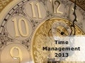 Time Management PowerPoint PPT Content Modern Sample