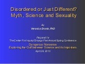 Disordered Or Just Different? Myth,...