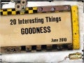 20 Interesting Things: Goodness June 2010