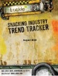 Snacking Trend Tracker August 2009