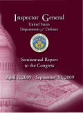 DoD Inspector General Semiannual Report to the Congress for April 1, 2009 to September 30, 2009