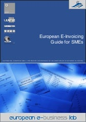 European e-invoicing guide for SMEs