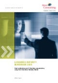 E-Business Maturity Benchmark 2008 white paper - preview